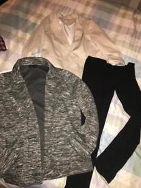 Ladies size 14 clothes bundle. Jackets