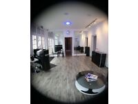 Large training room hire rent beauty academy seminars assembly meeting conference gallery day rates