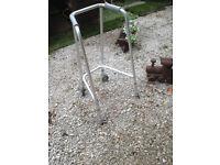 Lightweight Rigid Walker Walking Frame Zimmer Mobility Disability Aid