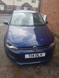 60 Plate blue Volkswagen polo 1.2 TDI 5 door