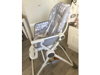 Pre Loved High Chair in perfect working order