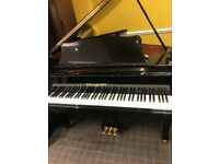 High Gloss Black Kohler & Campbell Baby Grand Piano.