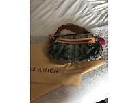 Limited edition Louis Vuitton denim bag