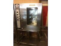 Rational Oven 10 grid With Stand ,Model CM101 Good Clean Working Condition 3 Phase Electric