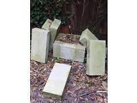 9x concrete breeze blocks