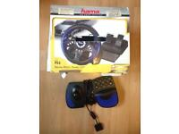PlayStation 2 (spares & repairs) Racing wheel and fighting stick