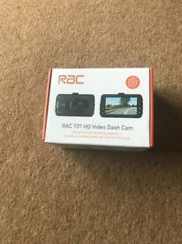 RAC 107 Dash Cam Never Used or Opened