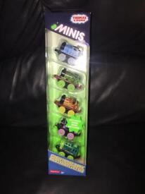 Brand new Thomas glow in the dark minis 5 pack