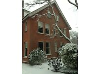 Large detached Edwardian property for sale, 7 bed/ 5 receptions, one hour from London by train!