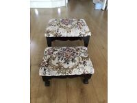 2 Lovely foot stools
