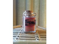 Handmade candle, chocolate scent, soy wax, 4 oz, by Heaven Senses