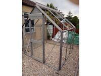 aliminium greenhouse