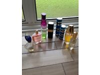 Selection of Used opened perfumes