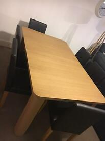 Hemsley Extendable Dining Table With Six Chairs