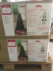 BRAND NEW CHRISTMAS TRESS & ORNAMENTS