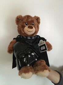 'Build-a-Bear' with Star Wars / Darth Vader clothes & mask