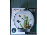 Biorb 30 Litre Aquarium Silver for sale