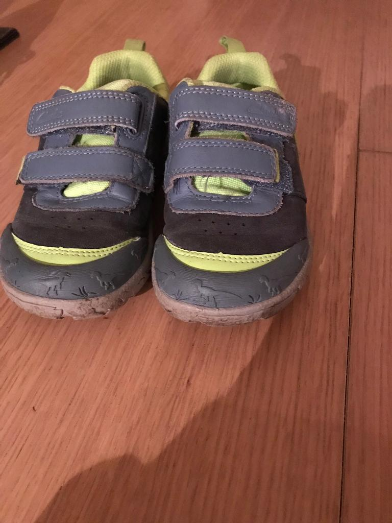 Boys Clarks Shoes Size 9g Kids' Clothing, Shoes & Accs Clothing, Shoes & Accessories