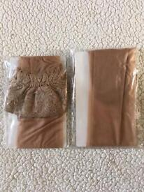 ANN SUMMERS, brand new, unworn lace top stockings x 2