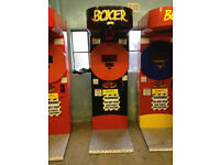 boxing punching machine coin operated not fruit