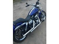 06 HARLEY DAVIDSON DYNA LOW RIDER 1450CC 6 SPEED MAY PX