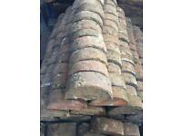 Reclaimed Norfolk Red Coping Bricks