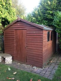 Garden shed large 10 x 8
