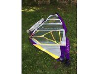 Windsurfing sail, Ezzywave 2000 sail 4.2 sq mtr (hardly used) Luff: 4.00m boom: 1.56m