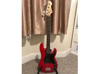 Revelation RPB 65 Precision Bass in Dakota Red PRICEDROP! NOW £125!