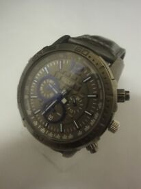 Men's GUESS Genuine Chronograph Watch - Brickhouse Collection - W19006G1 pre wor