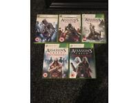 Xbox 360 Assassins Creed game bundle