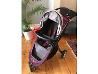BabyJogger City Mini in purple with all the accessories you'll need
