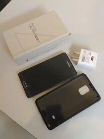 . samsung galaxy note 4 black .. 32gb unlocked .. like new ...