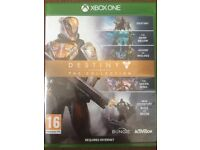 Destiny and Star Wars Battlefront for Xbox One in perfect condition