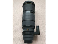 Sigma 120-300mm f2l8 EX (Canon EF) powerful pro fast zoom.