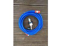 Aquaroll mains hose. Hardly used.