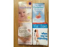 Baby books and cd incl hypnobirthing
