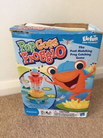 Pop Goes Froggio Game