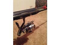 All round set of rods and reels for sale