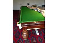 Snooker table like new