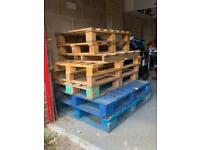 Free Pallets x 8 Mixed Sizes
