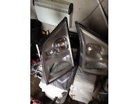 Transit mk7 headlights
