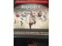 Brand new DVD Rugby collection