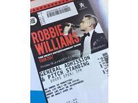 1 Robbie Williams concert ticket