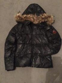 Black Bel Air Winter warm Coat size S