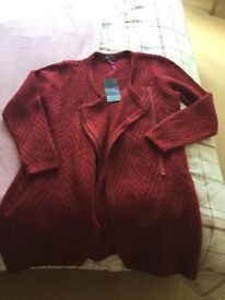 M&S new cardigan/jacket in woollen mix. Never worn so in perfect condition