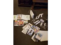 Nintendo wii fit board plus games wii motion