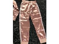 Rose pink tracksuit new