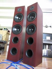 DALI AXS-8000 EXTRA LARGE SPEAKERS 200 WATTS GLASGOW COLLECTION ONLY