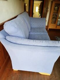 DFS 3 seater fabric sofa